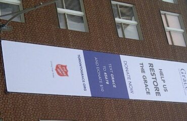 Donate to the Grace, TEXT: Grace TO: 45678 and donate $10