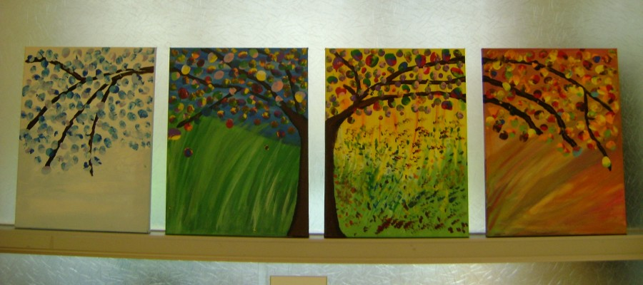 Grace Family Tree painting