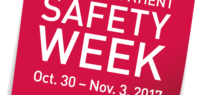 Canadian Patient Safety Week Oct. 30-Nov. 3, 2017