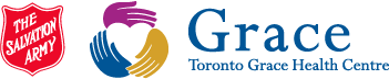 The Salvation Army Toronto Grace Health Centre Top Banner Logo
