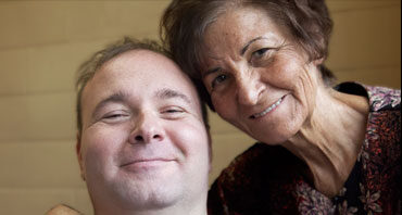 Mike and his Mother